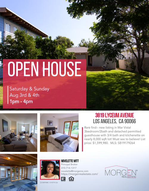 Mar Vista Open House