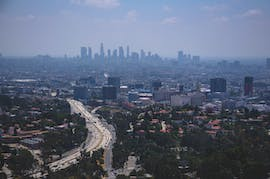 Los Angeles Homes Aerial Views
